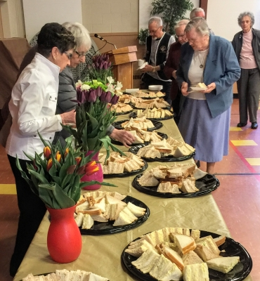 Opportunities for Buffets and Group Luncheons