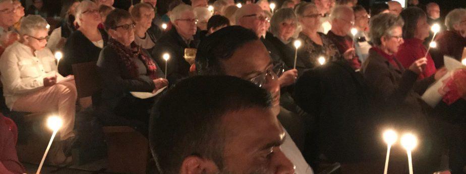 Candlelight Parishioners